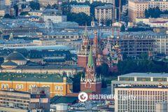 В России начались будничные обрушения