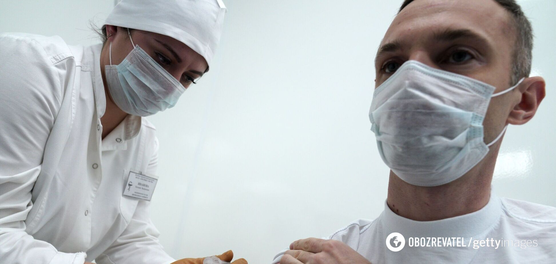 В Росії почалася вакцинація від коронавірусу вакциною Супутник