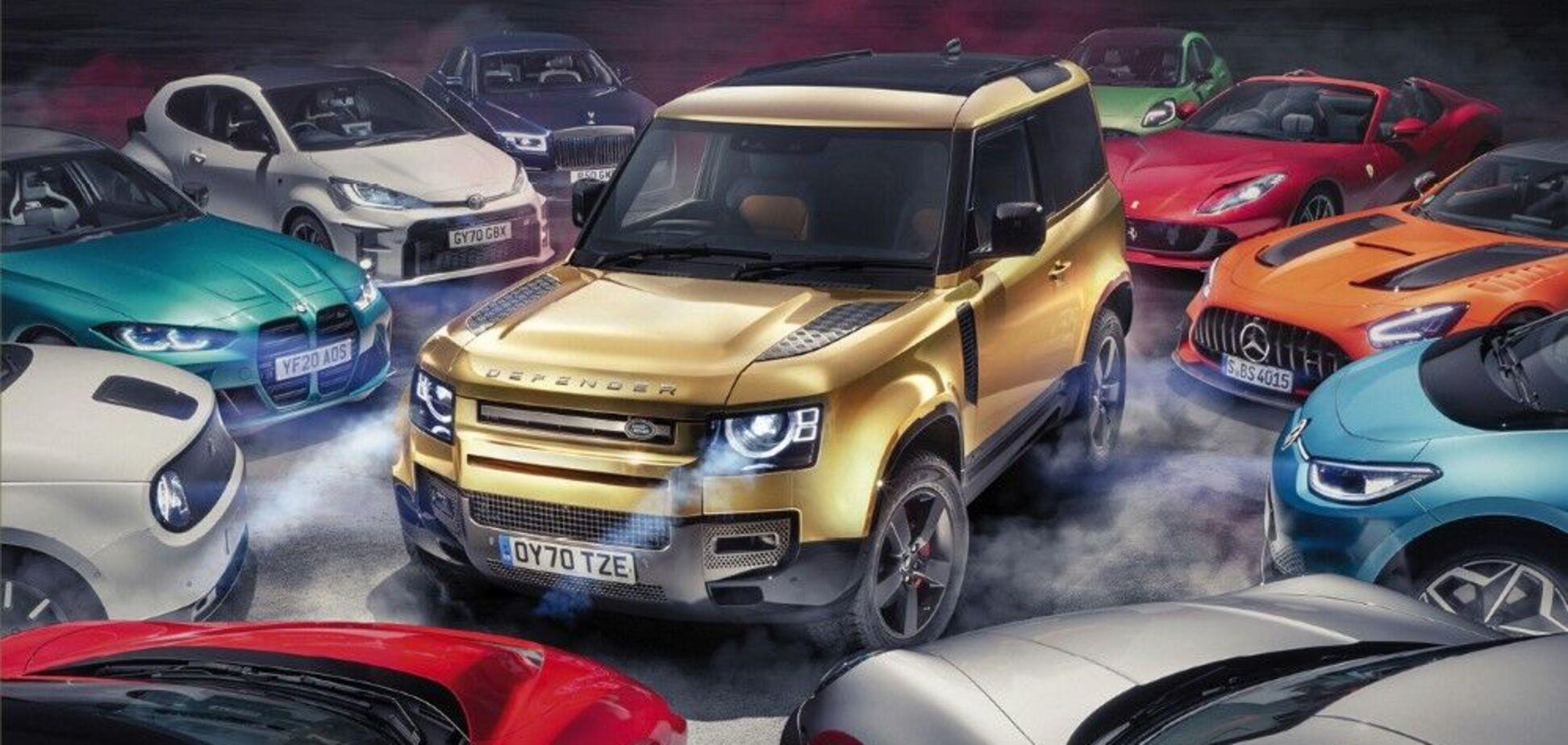 Land Rover Defender став 'Автомобілем року'