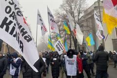 Предприниматели прошли маршем по центру Киева