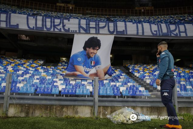 Стадіон італійського гранда офіційно перейменували на честь Марадони