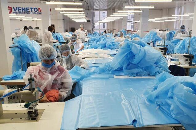 Китай не пройдет! Украинская компания 'ВенетоМед' шьет костюмы медзащиты