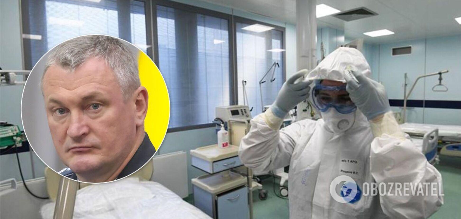 Экс-глава Нацполиции Князев госпитализирован с COVID-19 в тяжелом состоянии – СМИ