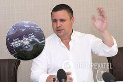Застройщик Микитась отбывает домашний арест в роскошном особняке под Киевом. Видео