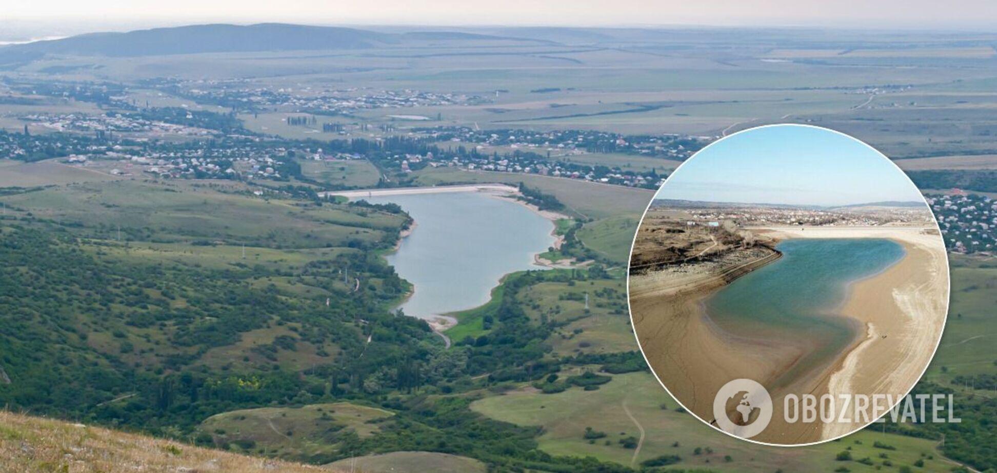 Аянське водосховище пересохло