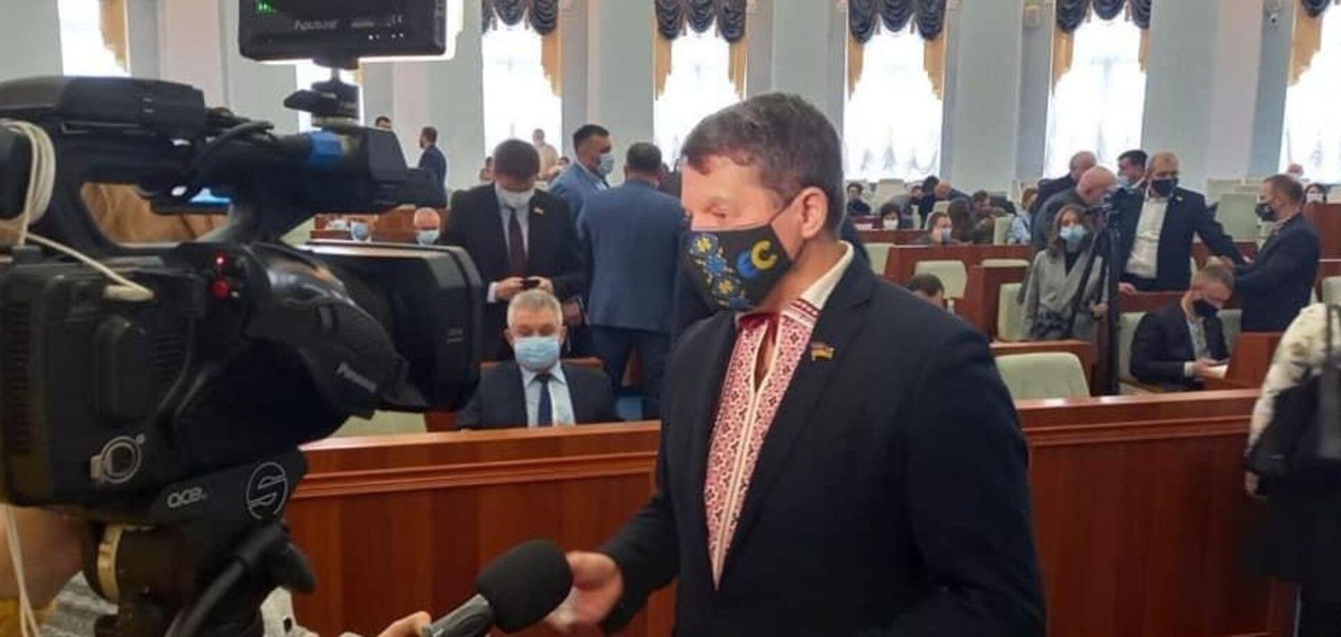 Роман Сущенко став першим заступником голови Черкаської облради