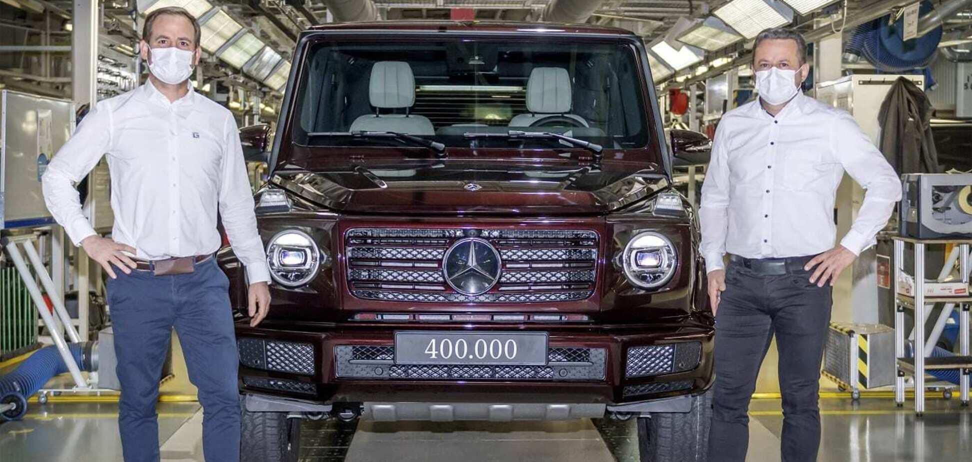 Mercedes випустив 400 000 'Кубиків' і анонсував електричний G-Class