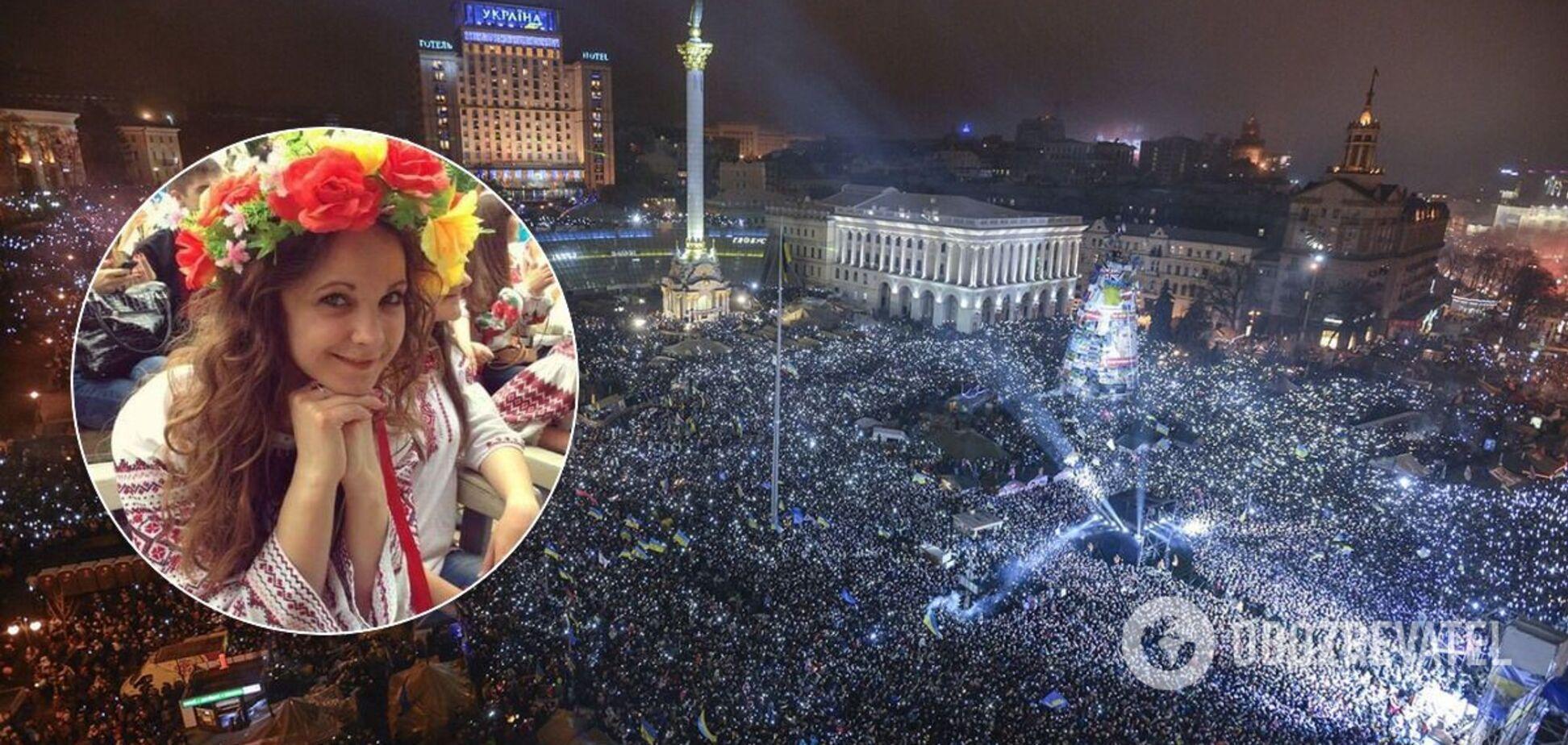 Поетеса Майдану: всю романтику і нашу наївність змило кров'ю першого загиблого