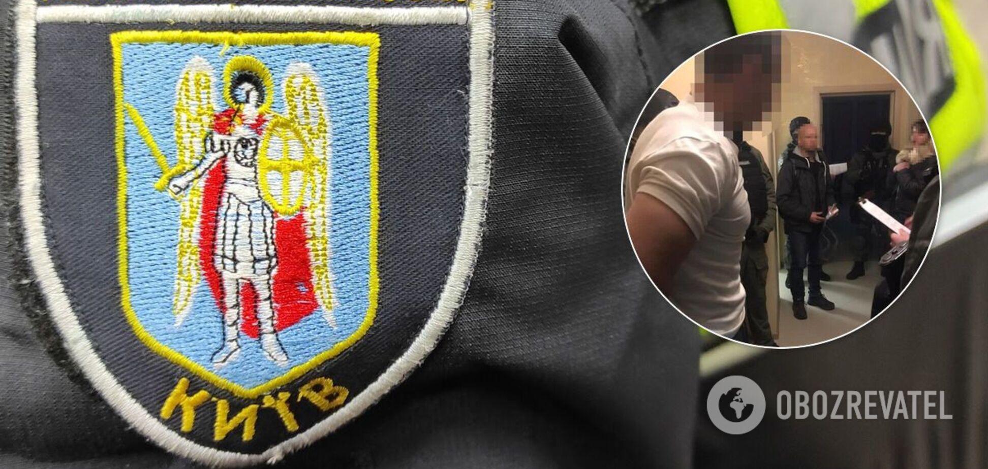 Злоумышленника задержали в порядке статьи 208 КПК Украины