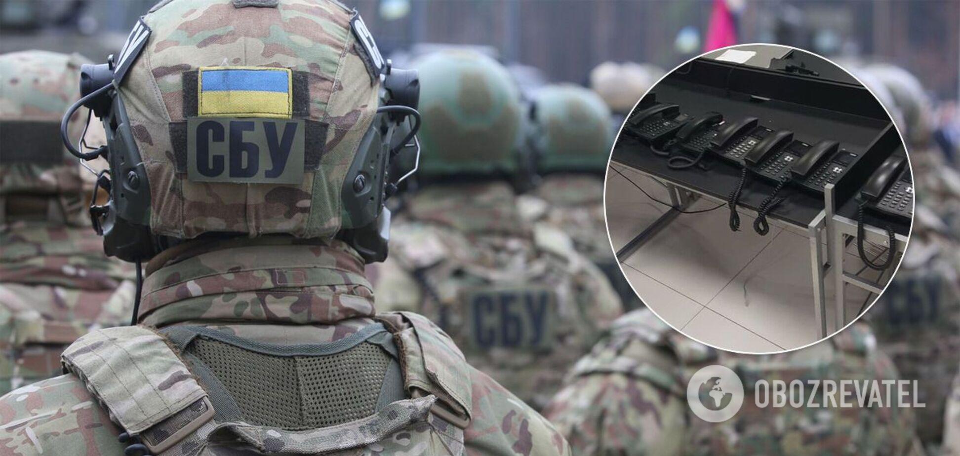 В Одессе СБУ накрыла call-центры, которые работали на компании из РФ, финансирующие 'Л/ДНР'. Фото