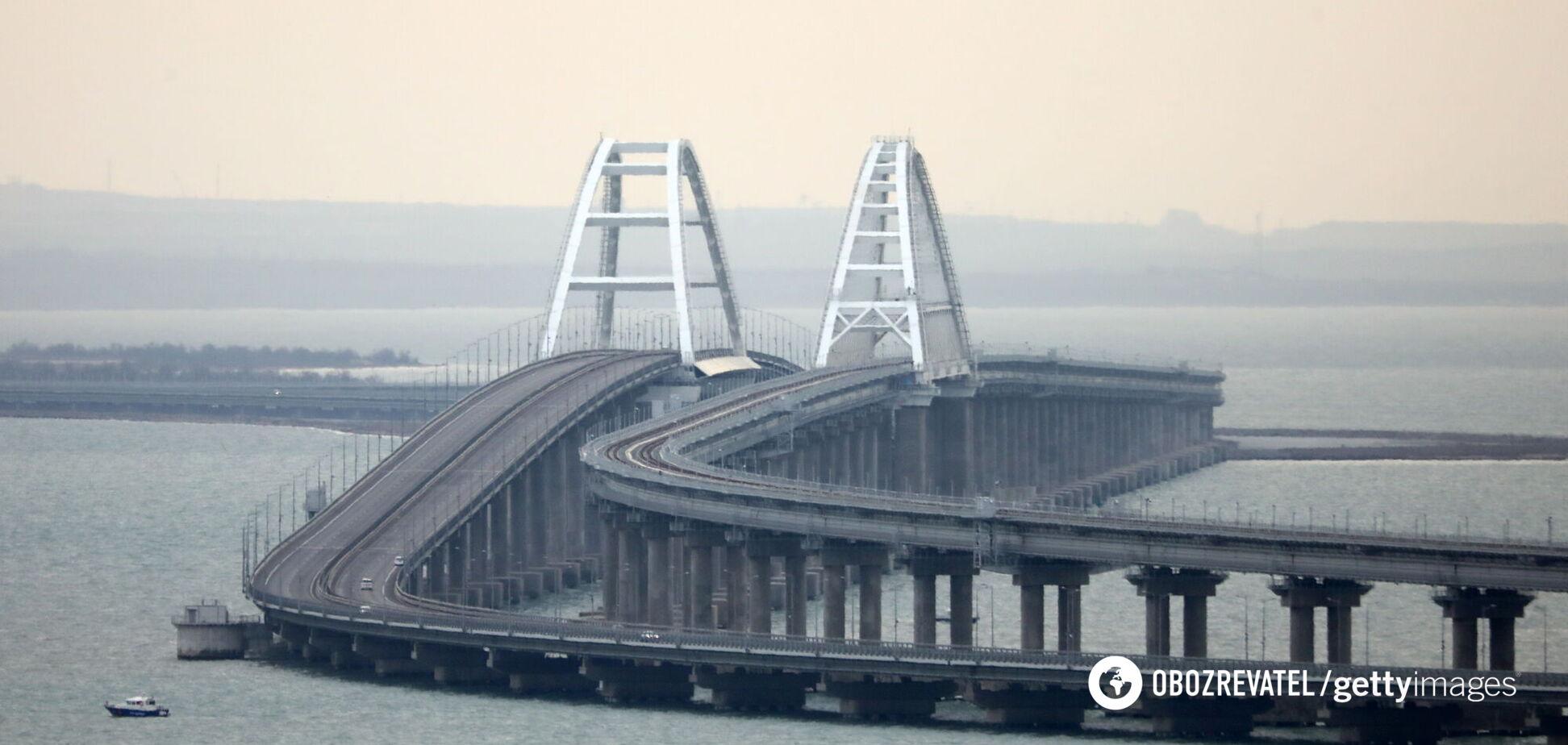 Оккупанты построили Керченский мост не только для транспорта, – генерал США