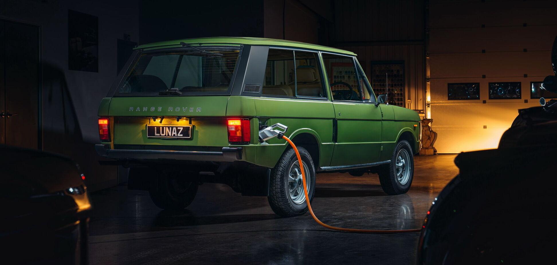Классический Range Rover стал электромобилем