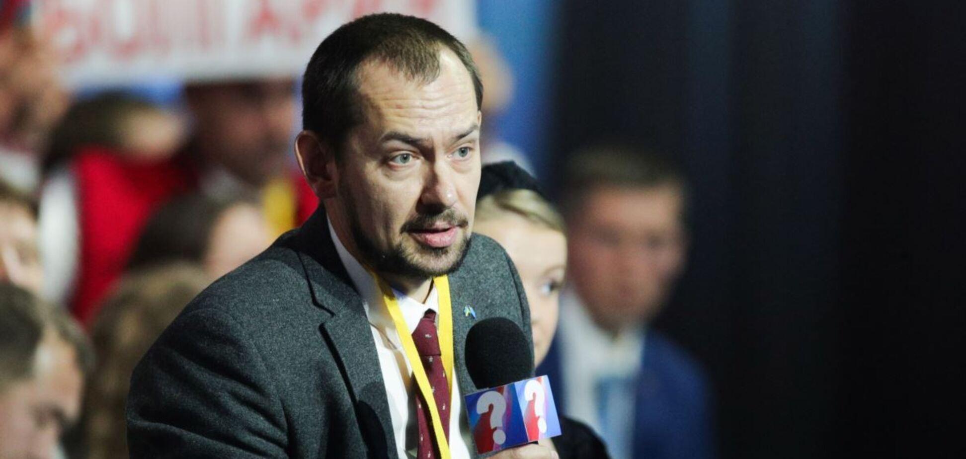 Журналіст Роман Цимбалюк