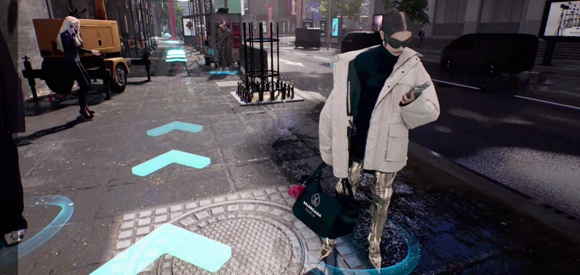 Balenciaga показав нову колекцію одягу у форматі відеогри
