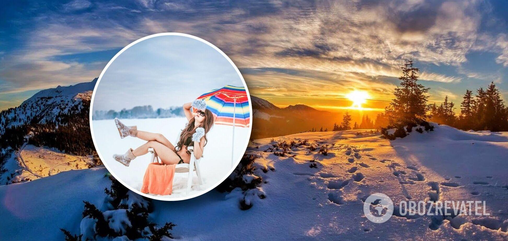 Україна чекає потепління з 10 грудня