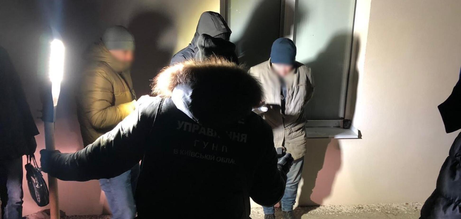 Полиция Киевской области задержала банду