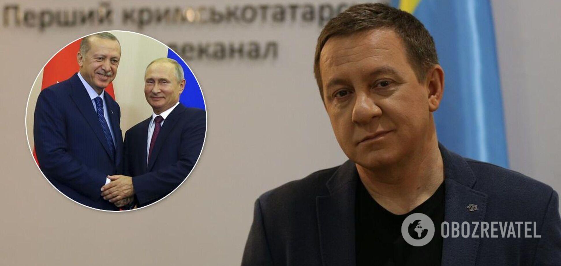 Муждабаев рассказал, как Путин задумал заставить Турцию признать Крым российским