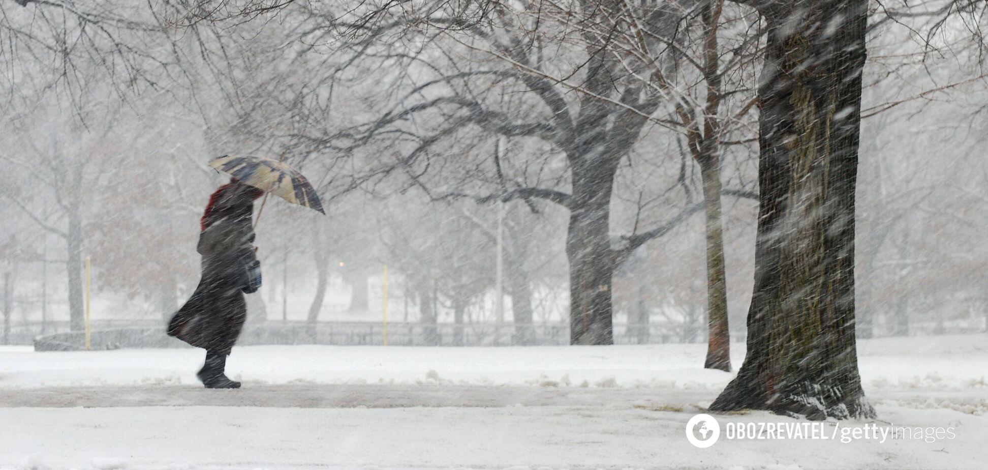 Штормовой ветер в Украине