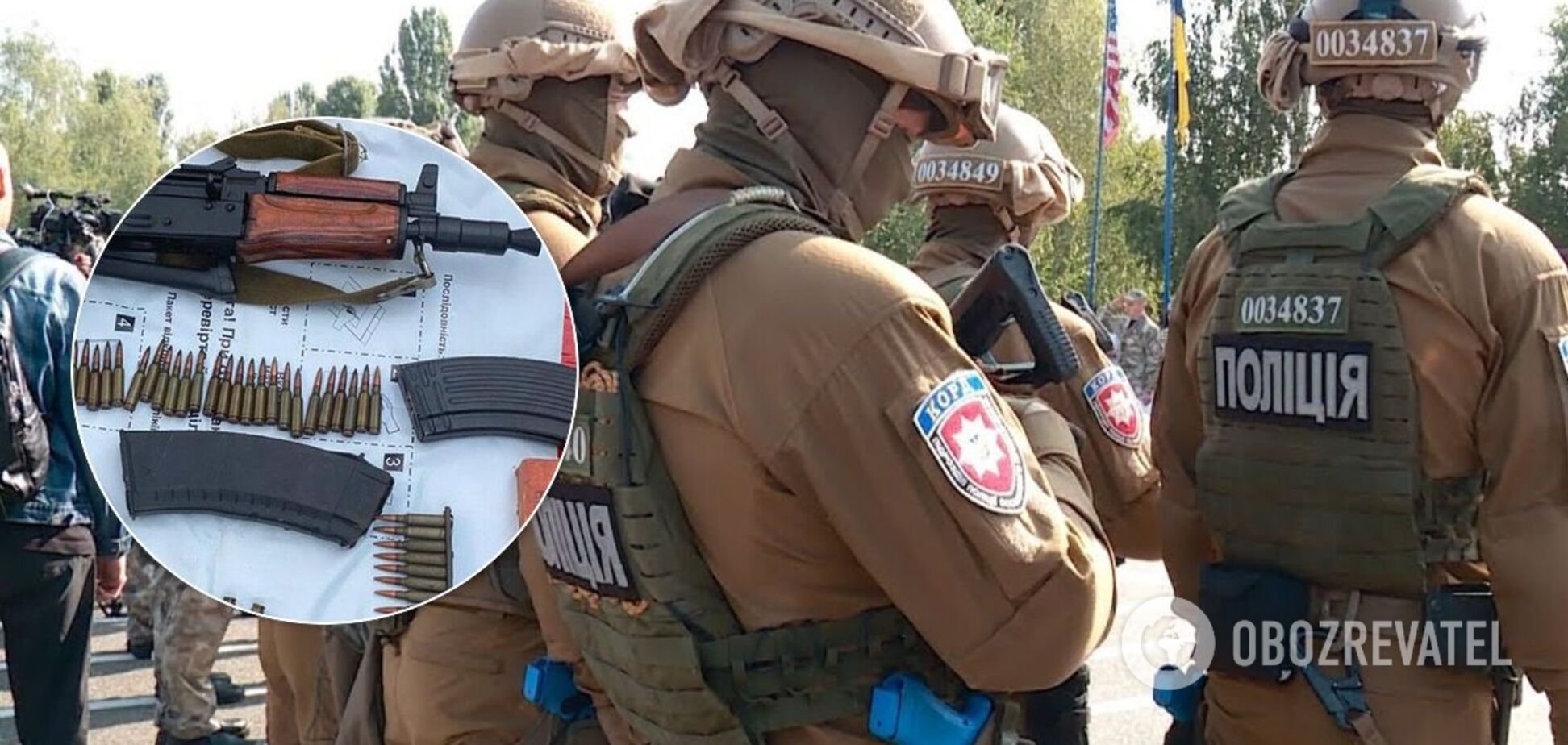 Правоохоронці затримали військових ЗСУ, які продавали зброю