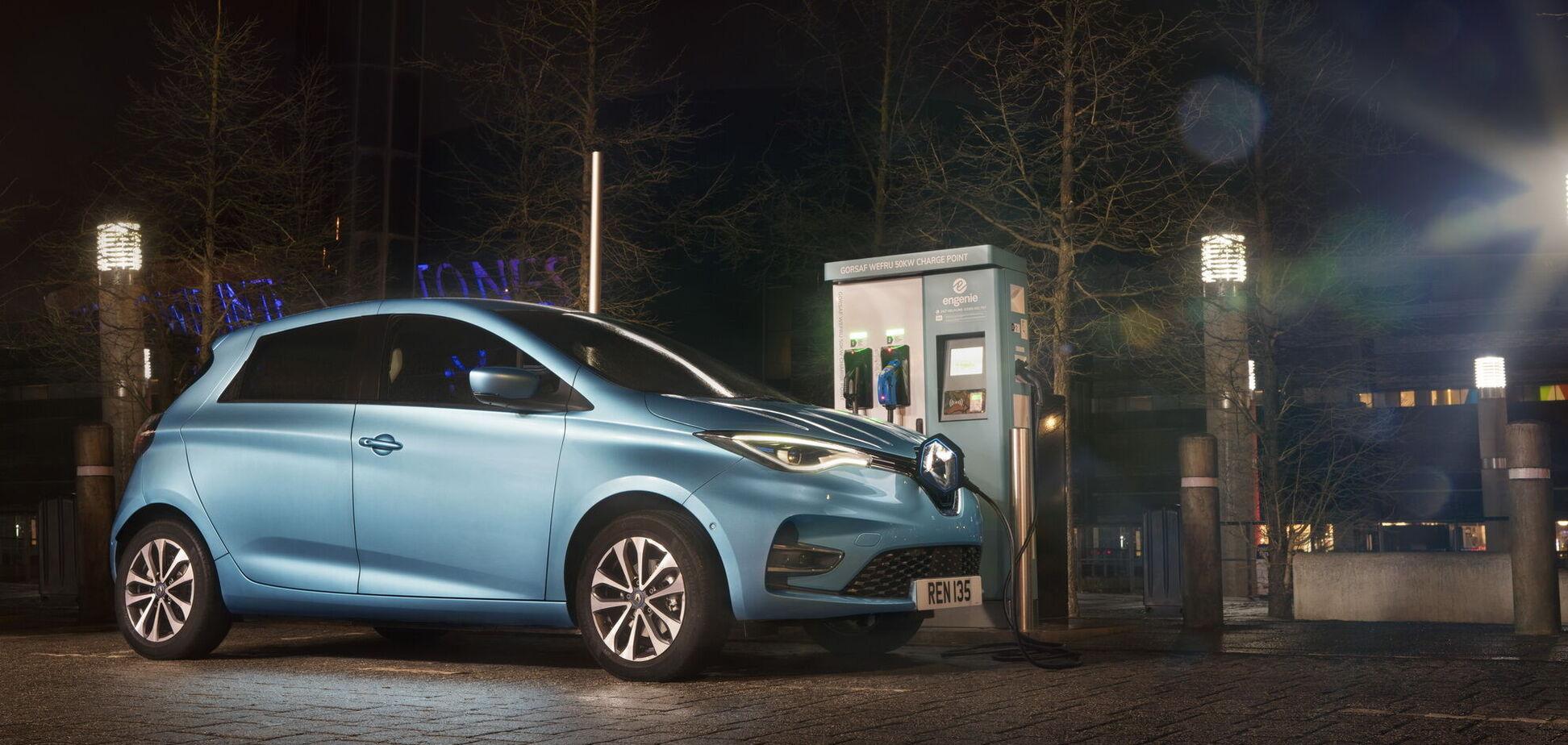 Renault вышла в лидеры европейского рынка электромобилей