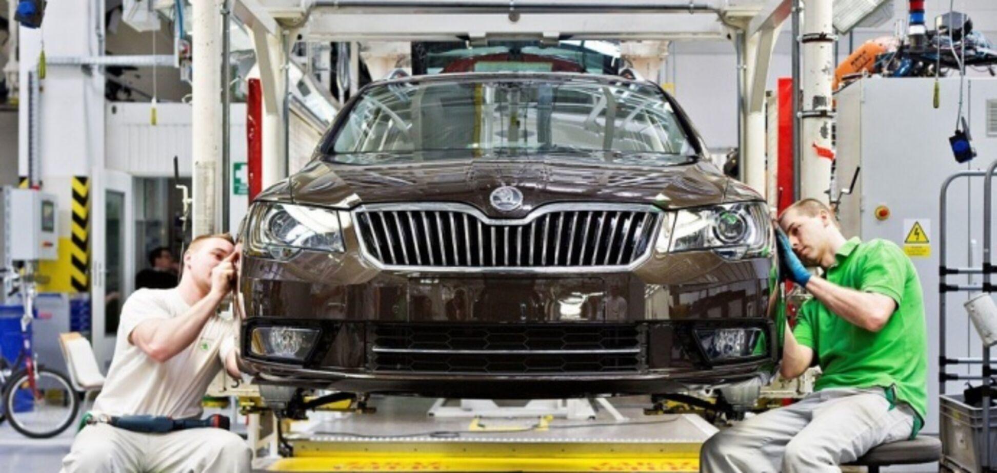 Автопроизводство в Украине продолжает снижаться