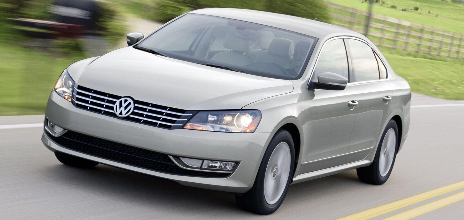 На продаж виставили 'биток' VW Passat із 'непристойними' ушкодженнями