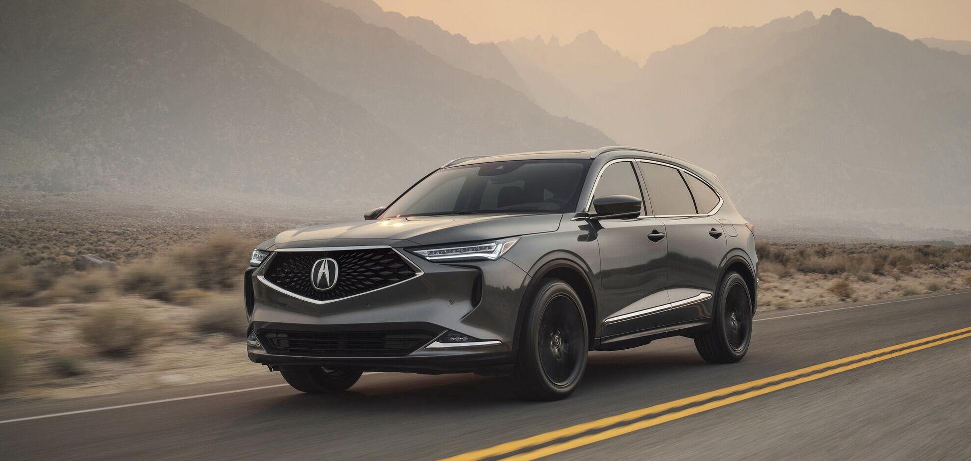 Acura представила флагманський кросовер MDX