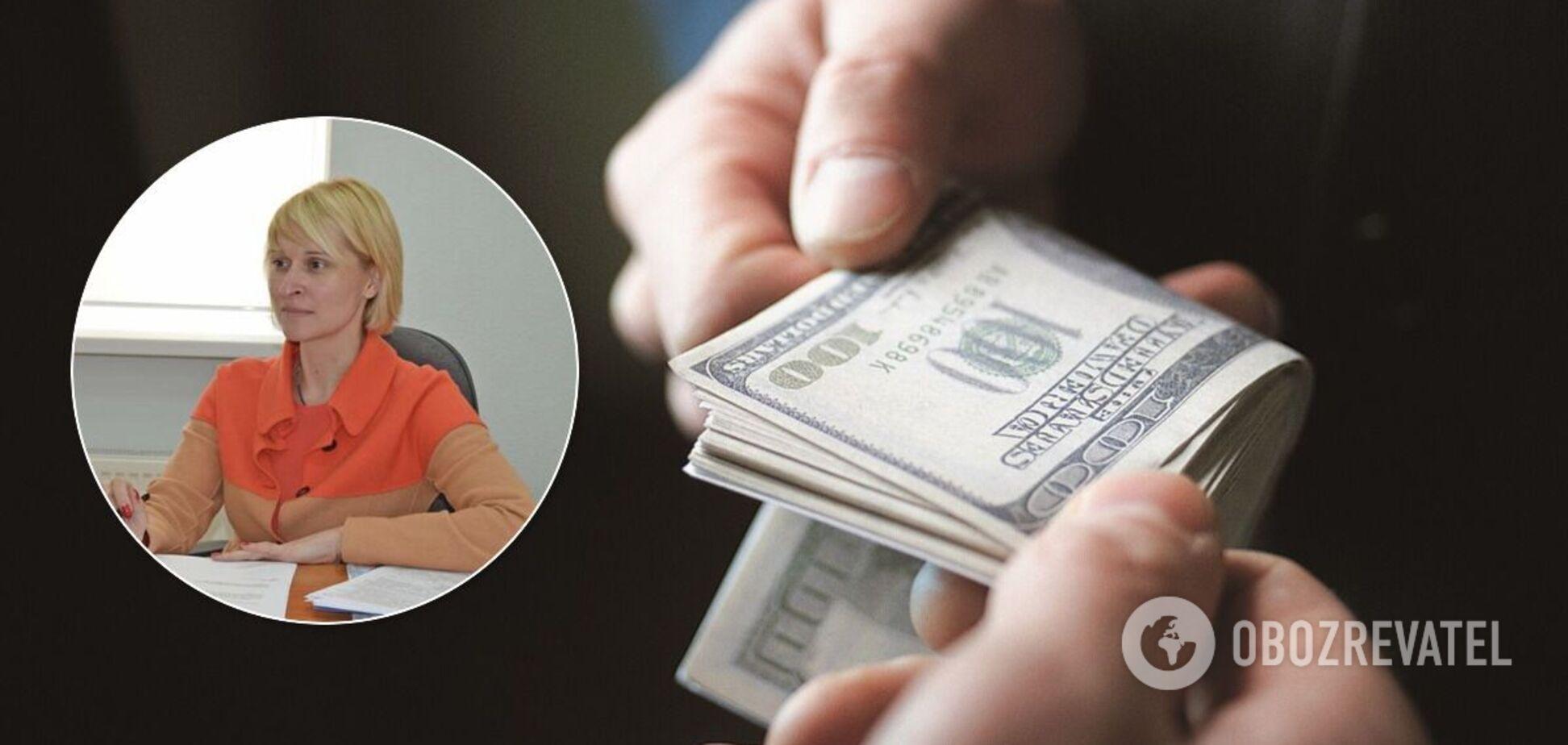 Журналіст звинуватив начальницю Одеської податкової в отриманні хабарів. Відео