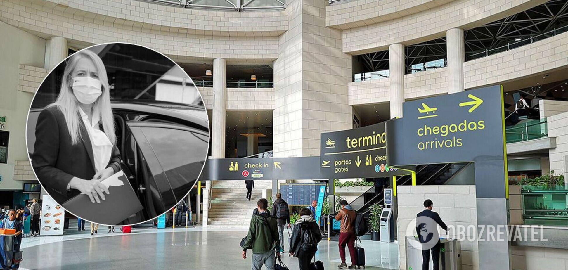 Украинец умер после задержания в аэропорту Лиссабона