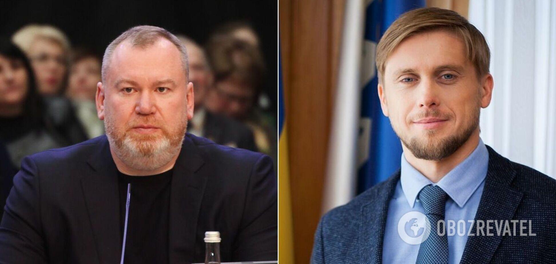 Валентин Резниченко и Александр Бондаренко