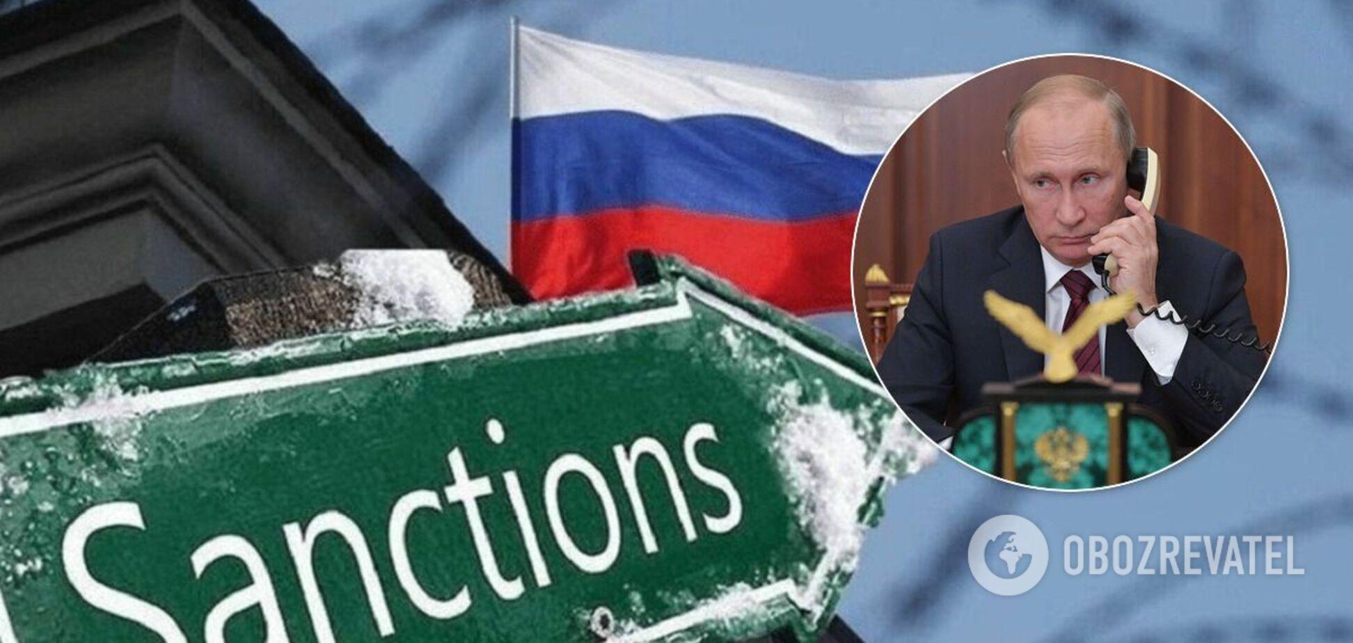 Російський політик назвав дві санкції, які найболючіше вдарять по Кремлю