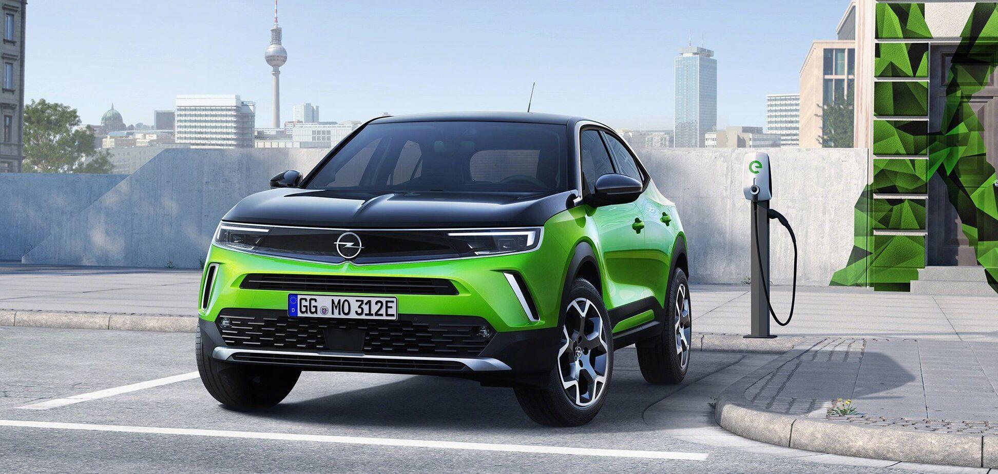 Електричний кросовер Opel наосліп розкупили на рік вперед
