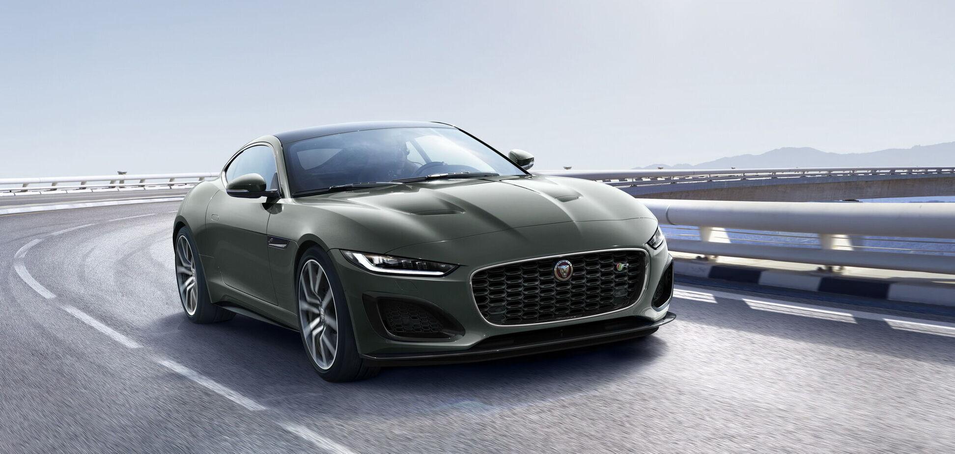 В честь 60-летия E-Type компания Jaguar выпустит 'юбилейный' F-Type