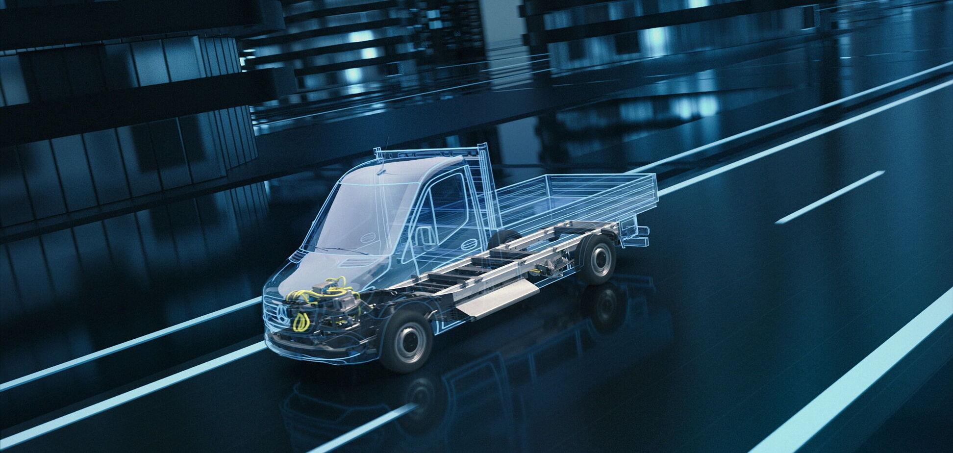 Mercedes-Benz анонсировала новый электрический eSprinter