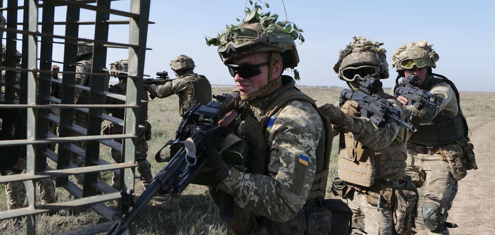 Учения на Донбассе