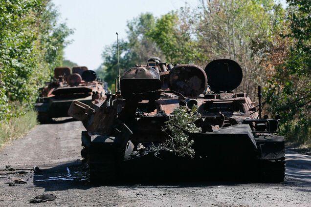 Ворог знищив тисячі одиниць техніки ЗСУ на Донбасі