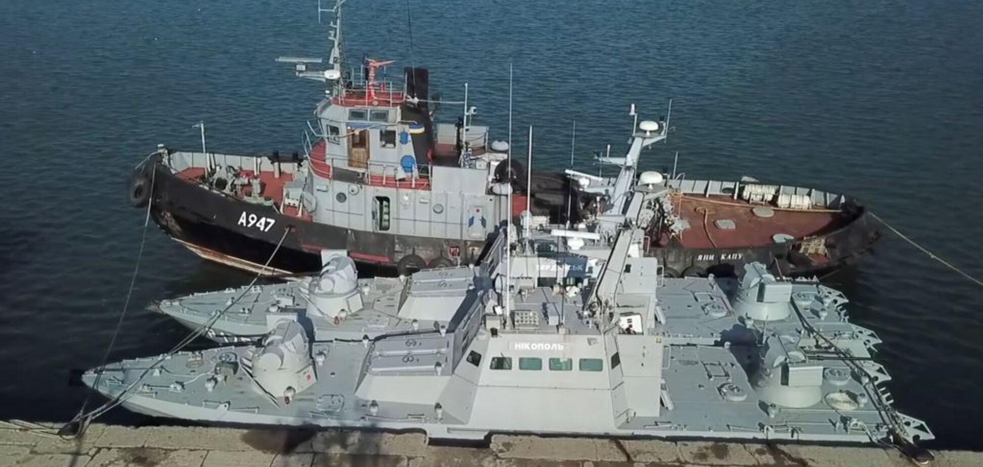 'Росіяни навіть не прибрали осколки снарядів': глава ВМС озвучив подальшу долю повернутих українських кораблів