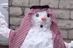 Второй раз за сто лет: Багдад аномально завалило снегом. Фото и видео чуда природы