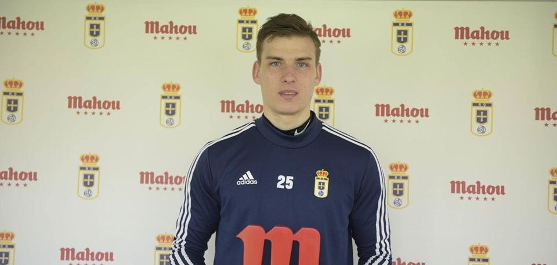 Український воротар Лунін визнаний найкращим в Іспанії