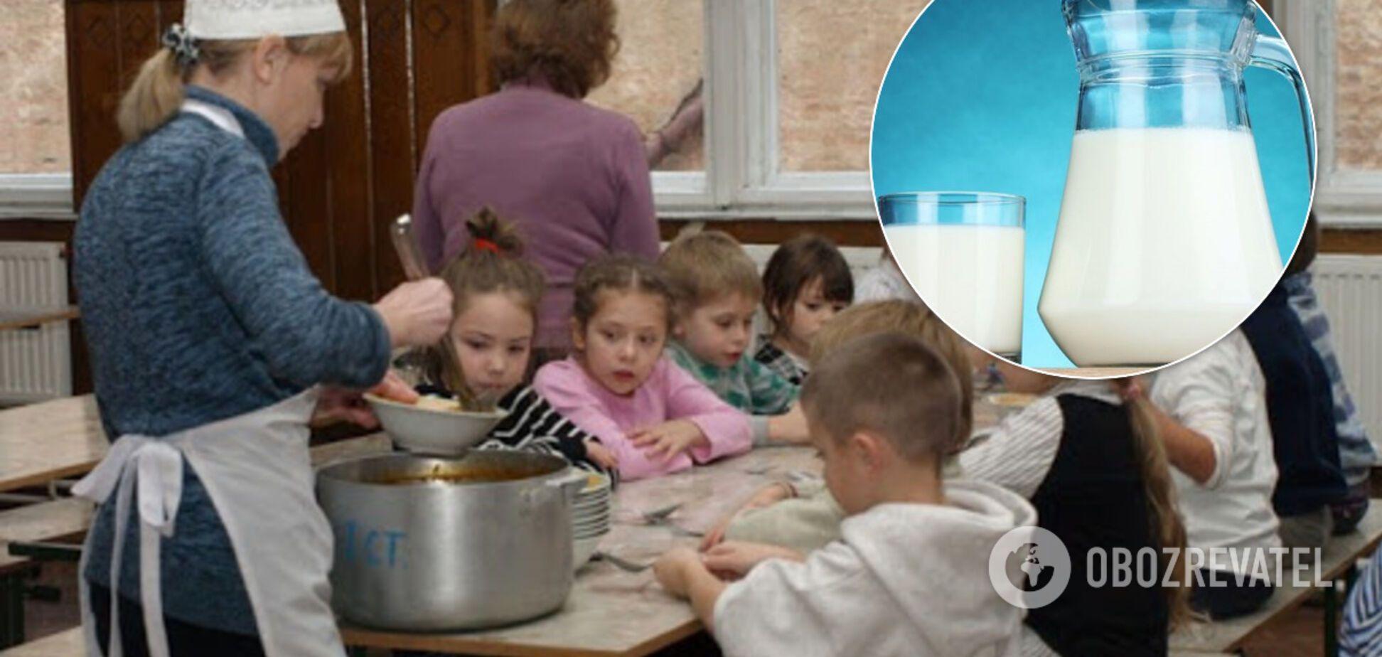 У шкільних їдальнях з'явиться молоко: Зеленська розповіла перші подробиці