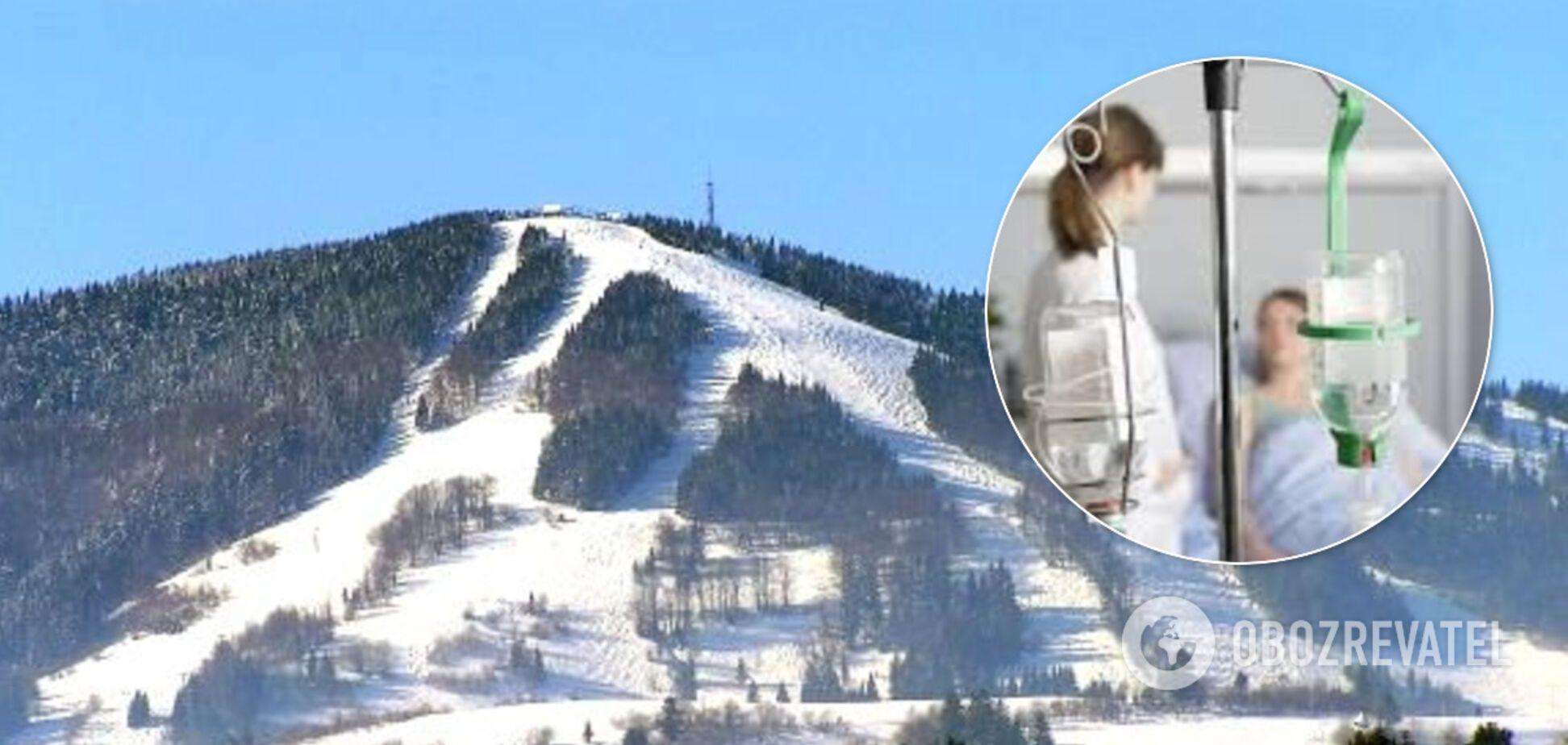 На популярном горнолыжном курорте Львовщины случилось массовое отравление