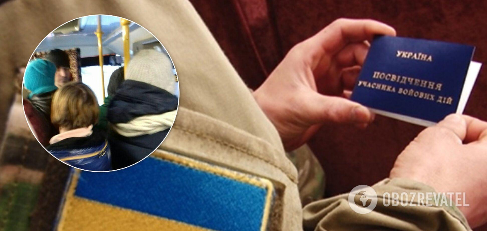 'Іди воюй!' У Маріуполі кондукторка зчепилася з ветераном АТО. Фото