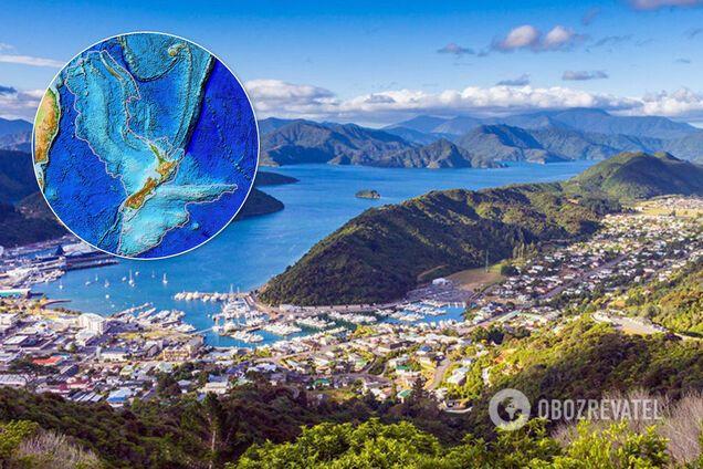 """Вчені розповіли про таємниці """"прихованого"""" континенту Зеландія"""