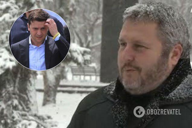 Роман Ковальов виступив із критикою на адресу Зеленського