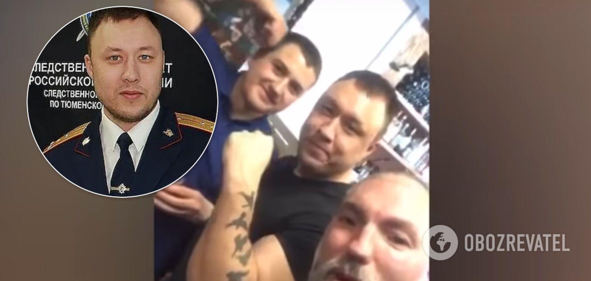 У Тюмені звільнили слідчого після відео з п'янкою