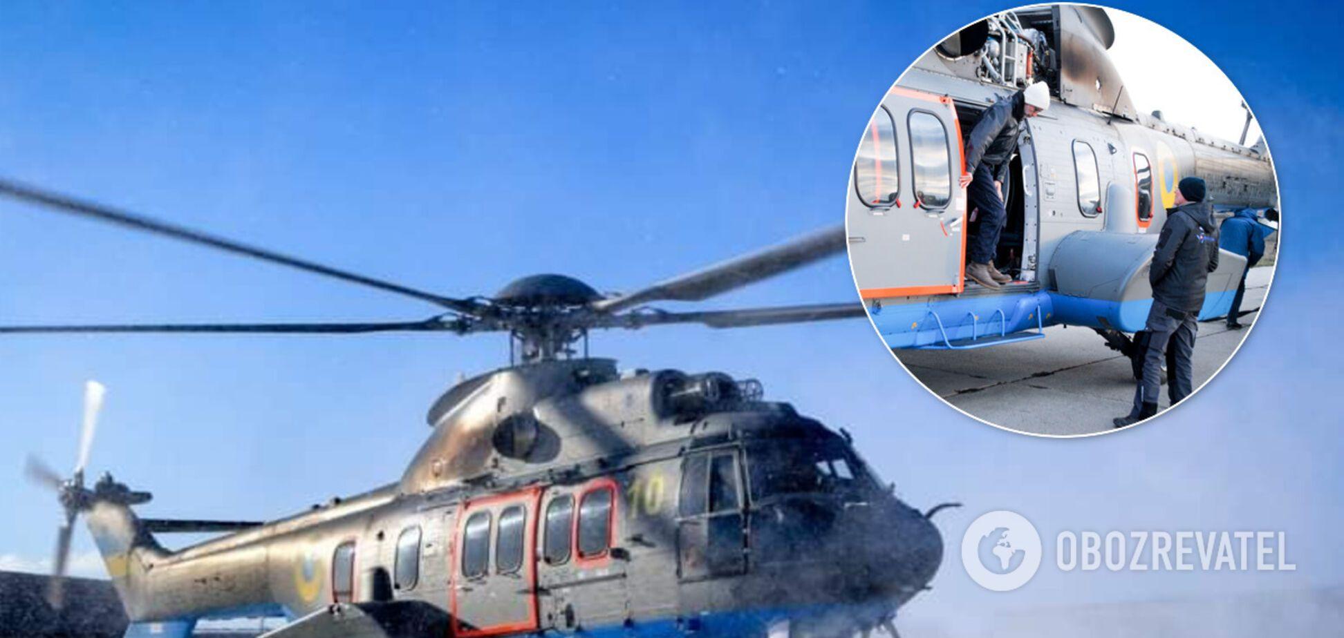 Нацгвардійці відпрацювали польоти на супервертольотах від Airbus: фото