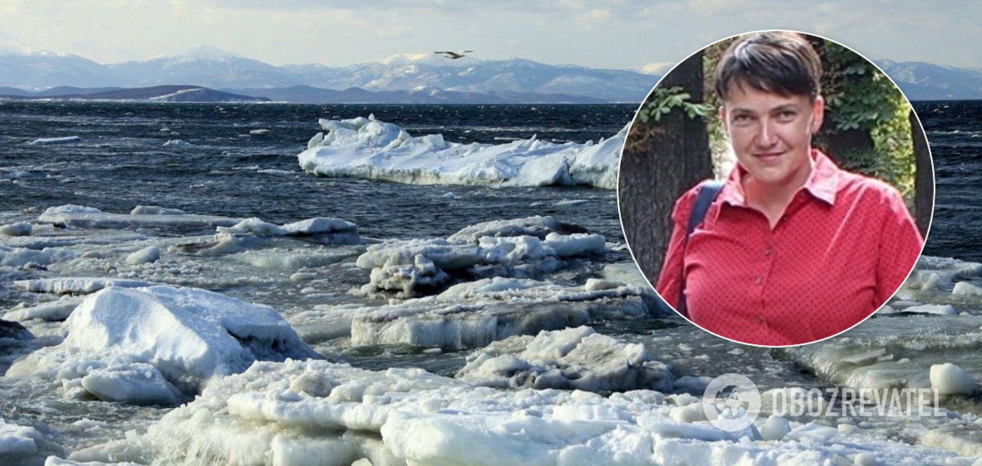 Психолог раскрыла смысл красного платья Савченко