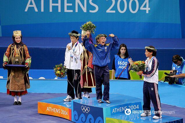 Ирина Мерлени празднует победу в Афинах