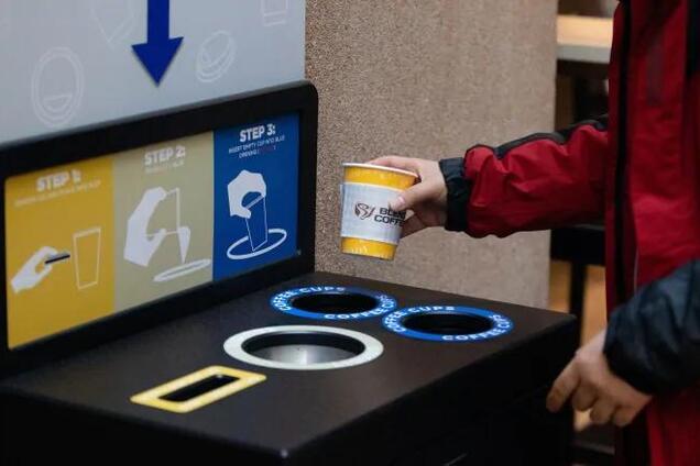 У Канаді почали особливим чином позбавлятися від кавових стаканчиків