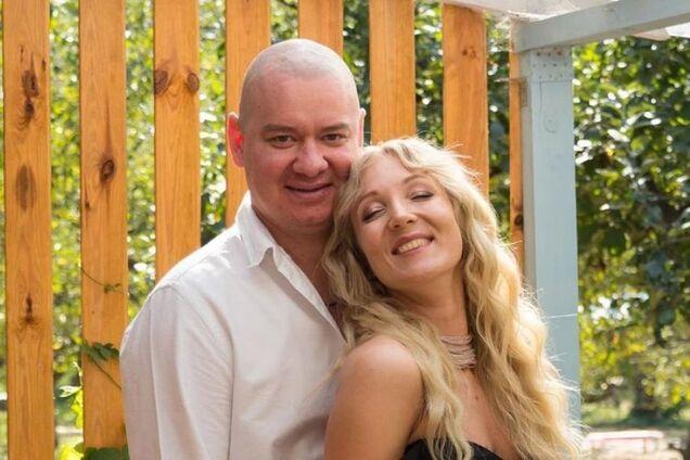 Євген Кошовий з дружиною